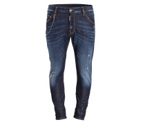 Destroyed-Jeans KENNY CHAIN Slim-Fit
