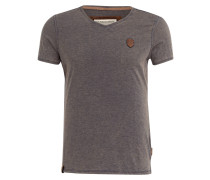 T-Shirt - grau meliert