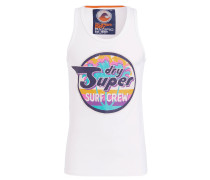 Tanktop REWORKED CLASSIC SURF - weiss