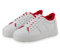Sneaker MEGA - WEISS/ ROT