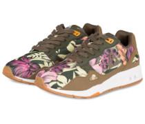 Sneaker R900 FLOWER - OLIV/ VIOLETT