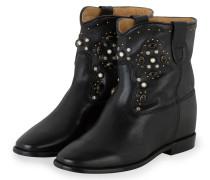 Cowboy Boots CLUSTER - SCHWARZ