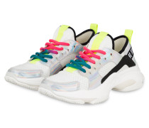 Plateau-Sneaker AJAX - WEISS