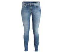 Skinny-Jeans LOLA - hatch medium