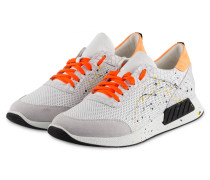 Sneaker RACY18 - WEISS/ ORANGE