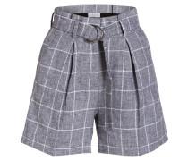 Shorts EDWARD mit Leinenanteil