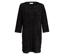 Kleid RALEIGH in Velourslederoptik