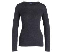Cashmere-Pullover - anthrazit meliert
