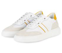 Sneaker BORIS 17 - WEISS/ GELB