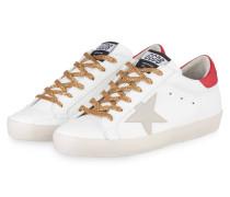 Sneaker SUPERSTAR - WEISS/ ROT/ GOLD