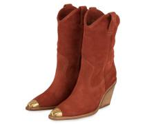 Cowboy Boots - DUNKELORANGE