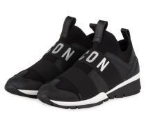 Slip-on-Sneaker ICON - SCHWARZ/ SILBER