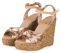 Wedges - ROSÉ METALLIC