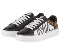Sneaker OVERSIZE LOGO - SCHWARZ/ WEISS