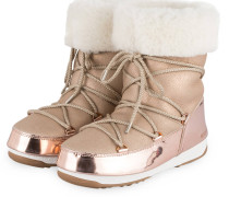 Moon Boots ROSE MIRROR - ROSE/ BEIGE