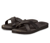Sandalen CROSS GLAM - SCHWARZ