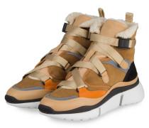 Hightop-Sneaker SONNIE - QUIET BROWN