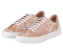 Samt-Sneaker KATE - NUDE