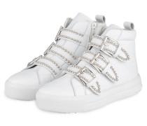 Hightop-Sneaker MEGA - WEISS