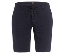Leinenshorts SYMOON Tapered Fit