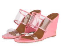 Wedges CHARING - TRANSPARENT/ ROSA