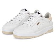 Plateau-Sneaker CLEAN 180 - WEISS