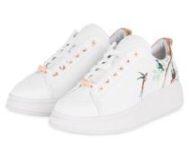 Sneaker AILBE - WEISS/ BRONZE