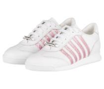 Sneaker NEW RUNNER - WEISS/ ROSA