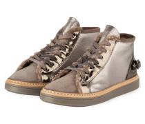 Hightop-Sneaker - TAUPE METALLIC