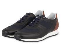 Sneaker - dunkelblau/ braun