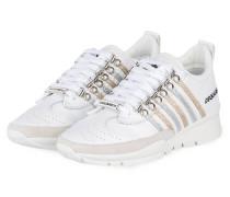 Sneaker 517 - WEISS/ GOLD/ SILBER