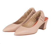 Sling-Pumps - NUDE
