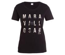 T-Shirt TAPRINTY - schwarz