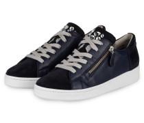 Sneaker mit Schmucksteinbesatz - BLAU
