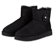 Fell-Boots MINI BAILEY PETAL - SCHWARZ