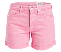 Jeans-Shorts - pink
