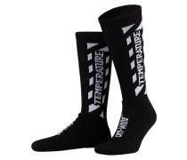 Socken TEMPERATURE - schwarz/ weiss