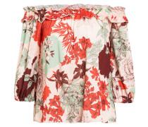 Blusenshirt mit Rüschenbesatz