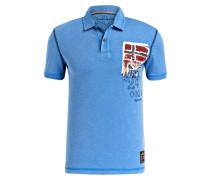 Jersey-Poloshirt ELLIDI - blau