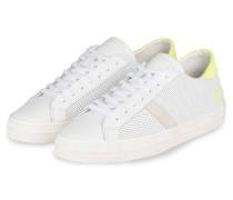 Sneaker HILL LOW FLUO - WEISS/ GELB