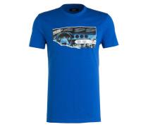 T-Shirt PROGRESS - blau