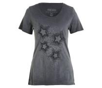 T-Shirt FAY mit Paillettenbesatz