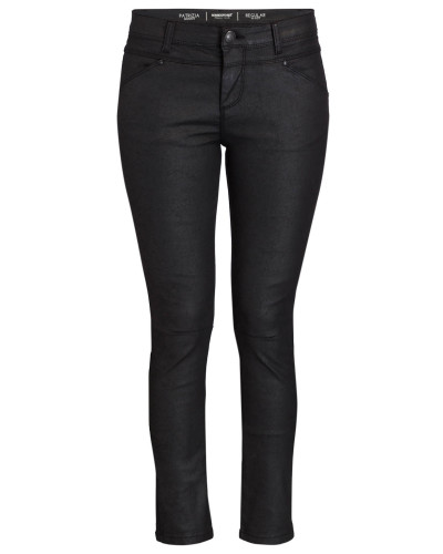 Coated-Jeans IGOR - schwarz