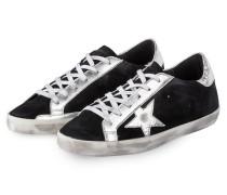 Sneaker SUPERSTAR - schwarz/ silber/ weiss