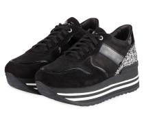 Plateau-Sneaker BLUES 13 - SCHWARZ