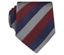 Krawatte - blau/ rot/ grau