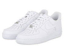 Sneaker AIR FORCE 1 `07 - weiss