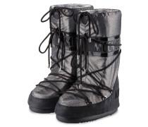 Moon Boots - schwarz/ silber