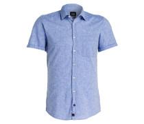 Halbarm-Hemd RIDER Modern-Fit mit Leinenanteil
