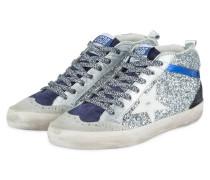 Hightop-Sneaker STAR - SILBER/ BLAU